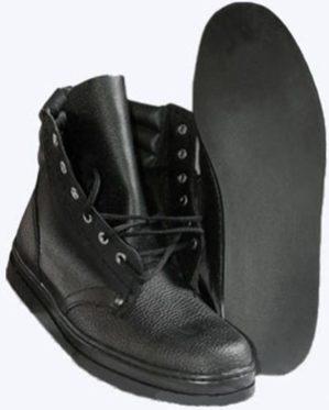 """Ботинки """"Асфальтоукладчик"""", натуральная кожа"""