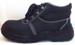 """Ботинки """"Профи"""" кожаные, искусственный мех, ПУ-ТПУ"""