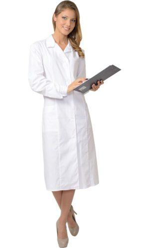 Халат медицинский женский с рельефами
