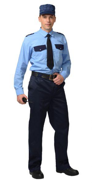 Сорочка охранника с длинным рукавом