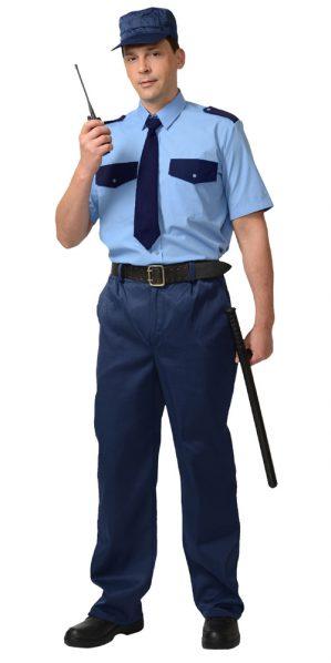 Сорочка охранника с коротким рукавом