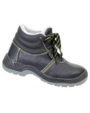 """Ботинки """"Мастер-Зима"""" кожаные, искусственный мех"""