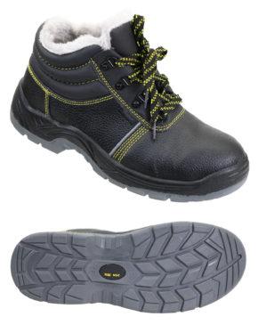 """Ботинки """"Профи-Люкс"""" кожаные, искусственный мех"""