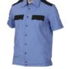 Сорочка охранника на резинке с коротким рукавом