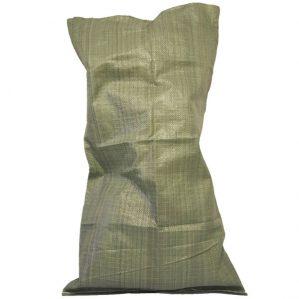Мешок полипропиленовый 50 кг зелёный новый