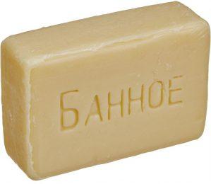 """Мыло """"Банное"""" открытое 100 гр"""