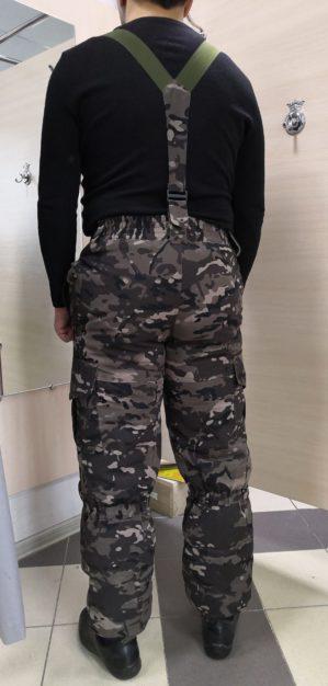 """Костюм """"Горка"""", арт. 5542, Премиум класс, куртка+брюки, цвет коричневый кмф, армированная ткань+термофин+термофлис, зима"""