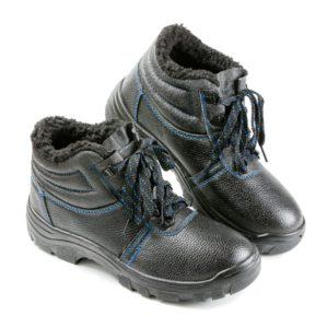 """Ботинки кожаные """"Стандарт"""" МП, искусственный мех"""