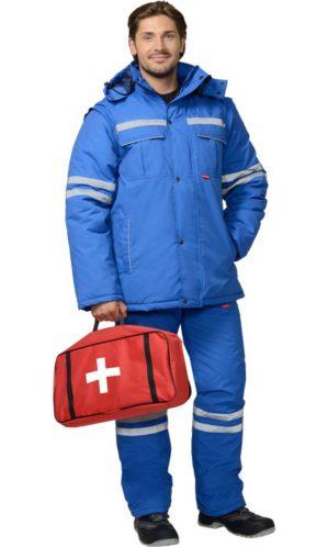 Костюм скорой помощи зимний