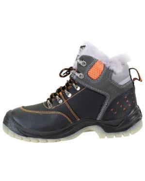 """Ботинки """"Энергия"""" кожаные, натуральный мех"""