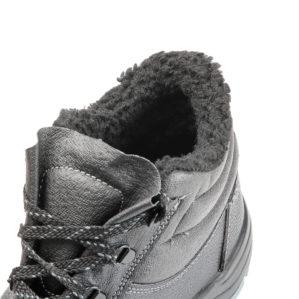 """Ботинки кожаные """"Стандарт"""", искусственный мех (Распродажа)"""