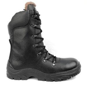 """Ботинки """"Патриот"""" кожаные, шерстяной мех"""