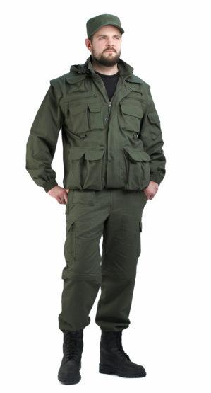 Костюм куртка-жилет + брюки-шорты