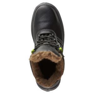"""Ботинки """"Метеор"""" ПУ+ТПУ, кожаные, шерстяной мех"""