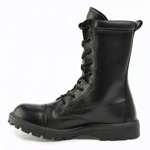 Ботинки кожаные, шерстяной мех