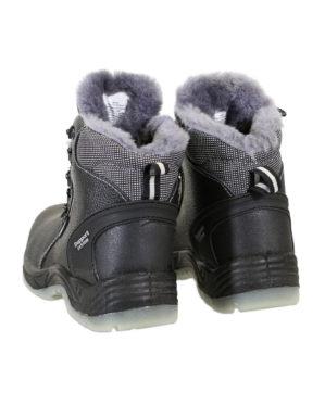 """Ботинки """"Люкс-Профи"""" кожаные, натуральный мех, ПУ+ТПУ, с ПКП"""