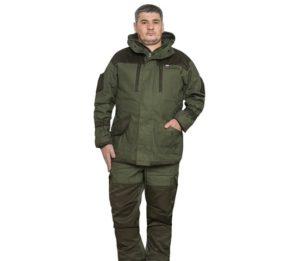 """Костюм """"Горка"""" куртка+п/к, 100% х/б, флис+синтепон, зима"""