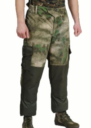 """Костюм """"Горка"""" куртка+брюки, зелёный мох, Премиум класс, термофин+термофлис, армированная ткань, зима"""