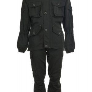 """Костюм арт.4886 """"Горка-Блэк"""", Премиум класс, куртка+п/к, армированная ткань, термофин+термофлис, зима"""