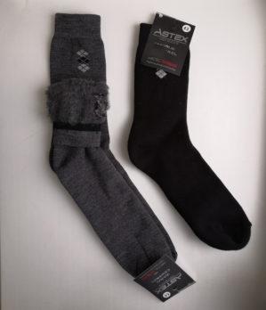 Носки шерстяные с начёсом внутри