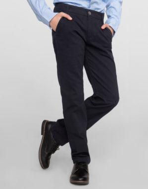 Стильные детские синие брюки