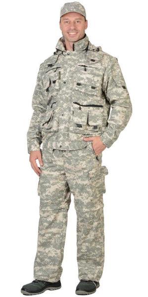 """Костюм """"Мангуст"""" куртка+брюки, армированная ткань, КМФ пустыня"""