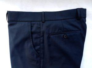 Стильные детские брюки классические синие