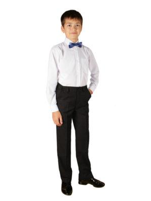 Стильные детские брюки классические чёрные