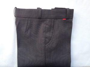 Стильные детские брюки классические серые