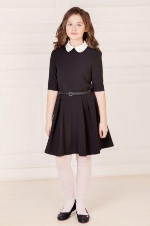 Платье школьное чёрное