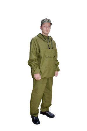 Костюм противоэнцефалитный куртка+брюки, 100% х/б