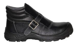 Ботинки сварщика кожаные, ПУ, МУН 200Дж
