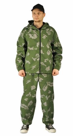 Костюм Маскхалат кмф граница зеленый, куртка+брюки