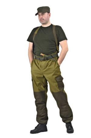 "Костюм ""Горка-3"" куртка+брюки, ткань палатка, 100% хлопок, хаки"