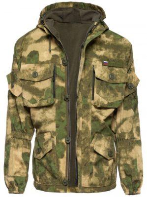 """Костюм """"Горка"""" Премиум класс, летний, кмф атакс, армированная ткань, куртка+брюки"""