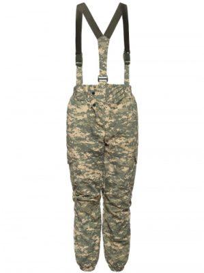 """Костюм """"Горка"""" Премиум класс, летний, кмф серая цифра, армированная ткань, куртка+брюки"""