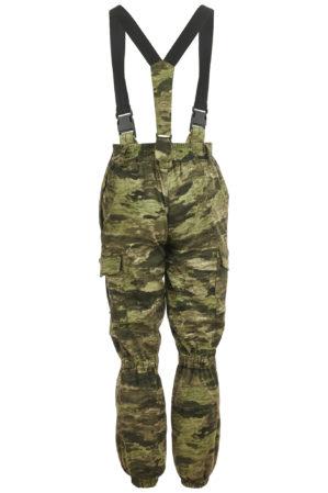 """Костюм """"Горка"""" Премиум класс, летний, кмф криптек тёмный, армированная ткань, куртка+брюки"""