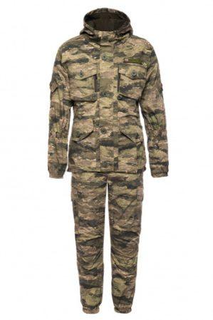 """Костюм """"Горка"""" Премиум класс, летний, кмф криптек светлый, армированная ткань, куртка+брюки"""