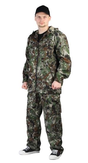 """Костюм """"Лесник"""" куртка+брюки, кмф """"Сетка зеленый"""", ткань: твил пич"""