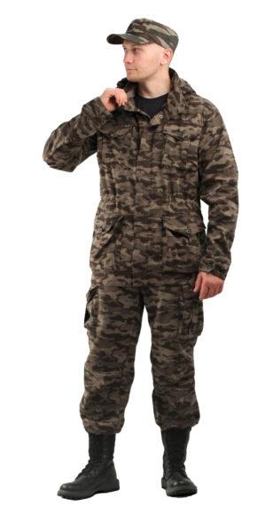 """Костюм """"Ягель"""" кмф, куртка+брюки, ткань твил пич"""