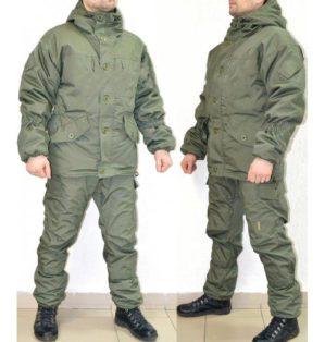 """Новинка! Костюм """"Горка Кордон Стандарт"""" арт. 5585, светло-оливковый, демисезонный, куртка+брюки, армированная ткань, утеплитель: термофлис"""