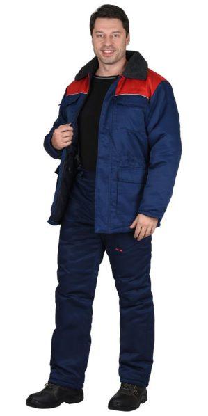 Костюм рабочий зимний, куртка+брюки
