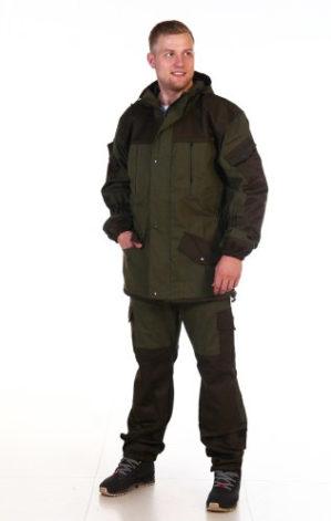 "Костюм ""Горка Стандарт"", арт. 5602, зима, цвет олива, тк. палатка, синтепон+флис"