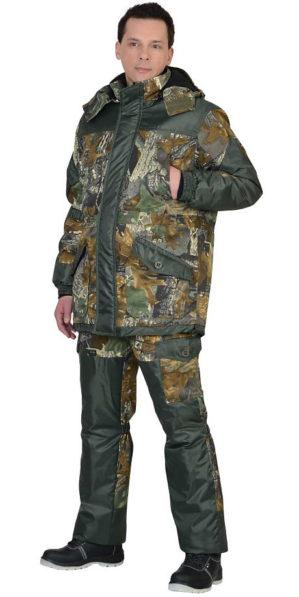 """Костюм камуфлированный """"Горка Тёмный лес"""" кмф, арт. 5621, куртка+брюки, зима"""