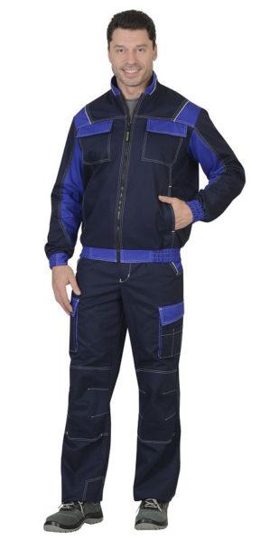"""Куртка рабочая """"Уран"""" тёмно-синяя"""