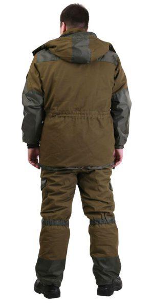 """Костюм """"Горка"""" хаки, арт. 5622, тк. палатка, куртка+брюки, зима, утеплитель: флис"""