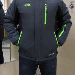 Куртка серая зимняя арт. 5540