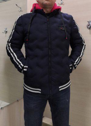 Куртка зимняя арт. 5541, тёмно-синяя