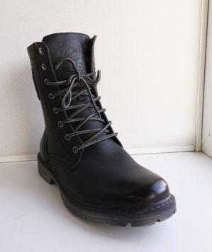 Ботинки утеплённые с высокими берцами арт. 5563