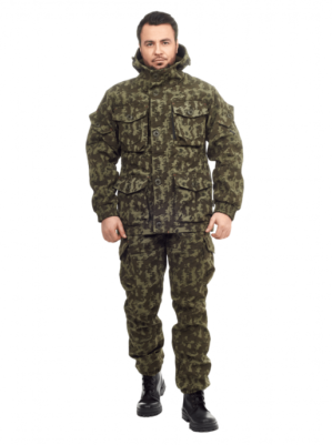 """Костюм камуфлированный """"Горка"""" арт. 5603, болотный КМФ, Премиум, демисезон, армированная ткань, утеплитель: термофлис"""